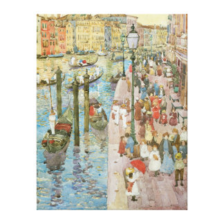 The Grand Canal, Venice Gallery Wrap Canvas