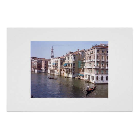 The Grand Canal - Venice, Italy Poster