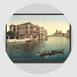 The Grand Canal view I Venice Italy vintage Pho Sticker