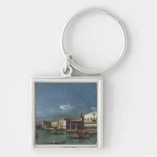 The Grand Canal with the Church of Santa Maria Key Ring
