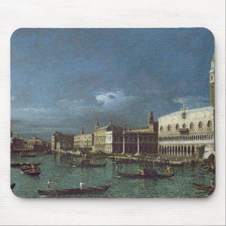 The Grand Canal with the Church of Santa Maria Mouse Mat