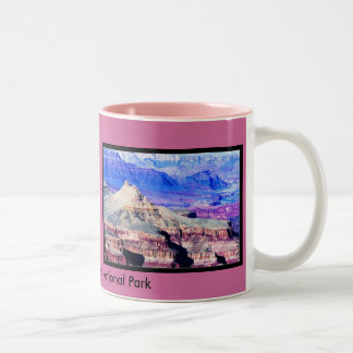 The Grand Canyon National Park Two-Tone Mug