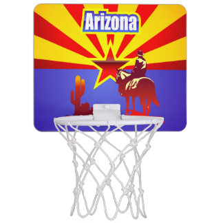 The Grand Canyon State Mini Basketball Hoop