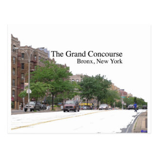 The Grand Concouse Bronx NY Post Cards