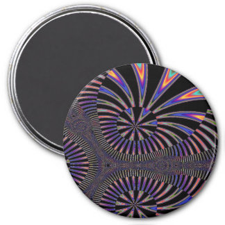 The Grand Finale Fireworks Circular Magnet