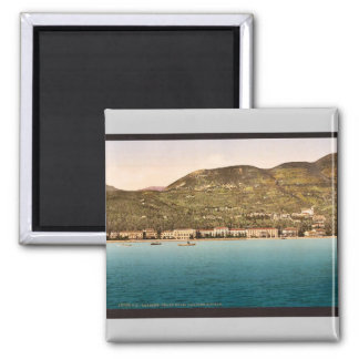 The Grand Hotel, Gardone, Garda, Lake of, Italy vi Square Magnet