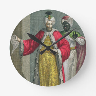 The Grand Lord, in his seraglio with the Kislar Ag Round Clock