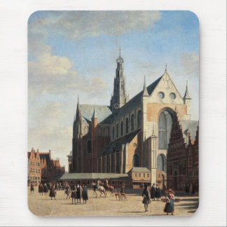 The Grand Market in Haarlem Mouse Pad