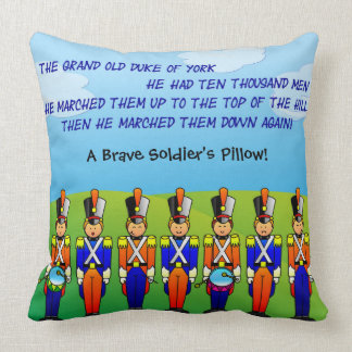 The Grand Old Duke of York - 7 Soldiers Throw Cushion