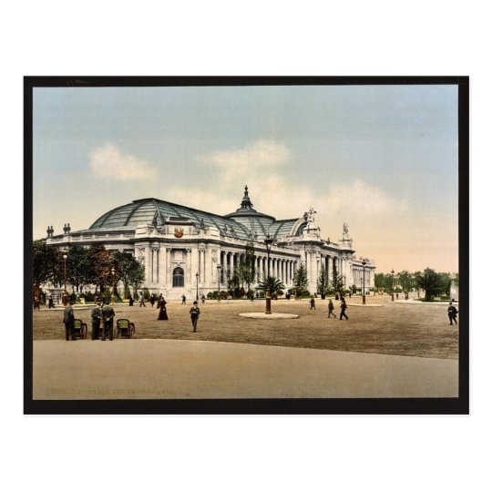 The Grand Palace, Exposition Universal, 1900, Pari Postcard