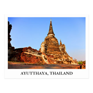 The Grand Palace of Ayutthaya in Thailand Postcard