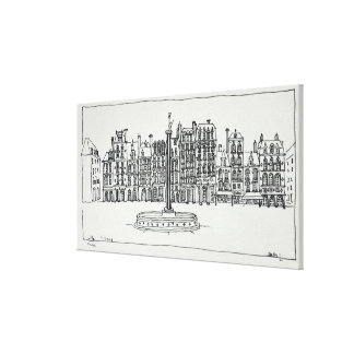 The Grand Place | Lille, France Canvas Print