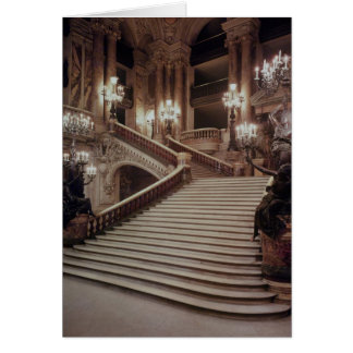 The Grand Staircase of the Opera-Garnier Card