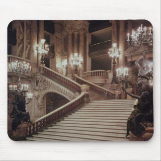 The Grand Staircase of the Opera-Garnier Mouse Pad