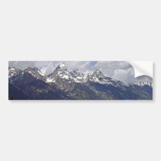 The Grand Tetons Bumper Sticker