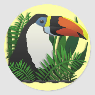 The Grand Toucan Classic Round Sticker