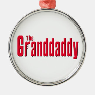 The Granddaddy Silver-Colored Round Decoration