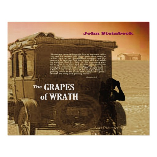 grapes of wrath great depression essay The grapes of wrath is a novel about the dust bowl migration in the harsh times of the great depression it is the story of one oklahoma farm family, the joads, and it is also the story of thousands of similar men and women.