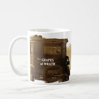 The Grapes of Wrath quote Basic White Mug