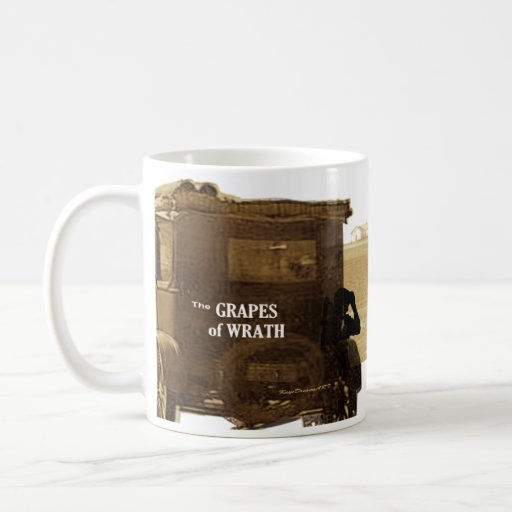 The Grapes of Wrath quote Coffee Mugs