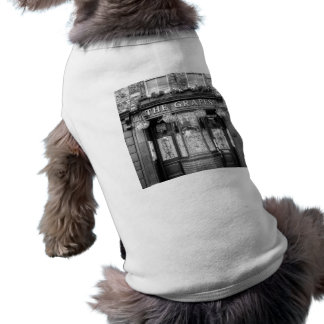 The Grapes Pub London Sleeveless Dog Shirt