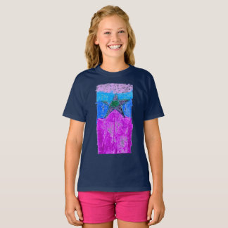 "The ""Graphic Star"" T for girls, by Luka Myers T-Shirt"