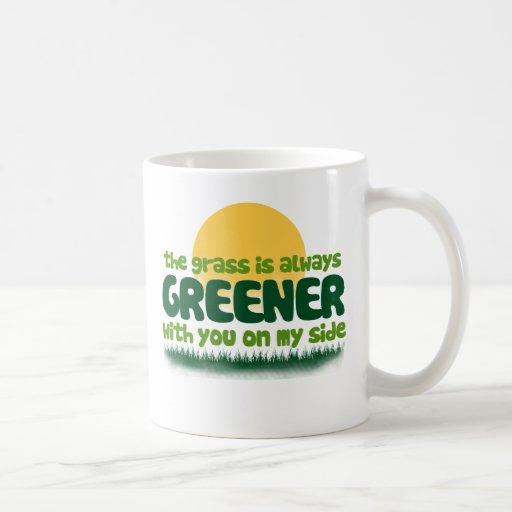 The Grass is Always Greener Coffee Mug