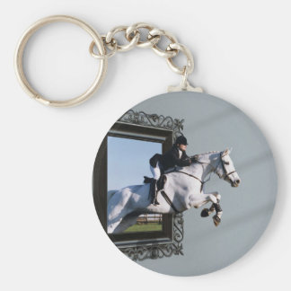 The Grass Is Greener........ Key Ring