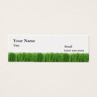 The Grass is Greener Mini Calling Card