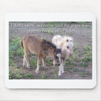 The Grass is Greener Mouse Mat