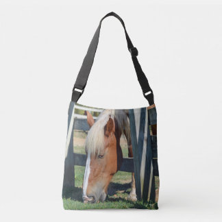 The Grass Is Greener On The Other Side Horse Crossbody Bag