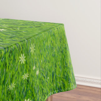 The grass is greener tablecloth