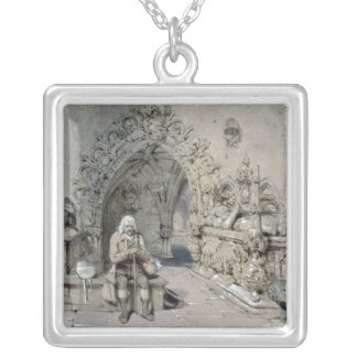 The Grave of Little Nell Silver Plated Necklace