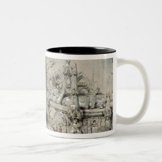 The Grave of Little Nell Two-Tone Coffee Mug