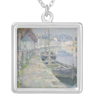 The Gravel Boats Silver Plated Necklace