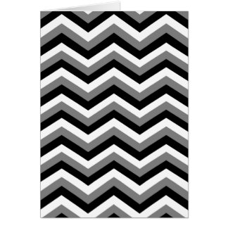 THE GRAY AREA (a zig zag design) ~ Greeting Card