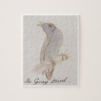 The Gray Bird, from 'Sixteen Drawings of Comic Bir Jigsaw Puzzle