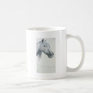 The Gray Gaze Basic White Mug