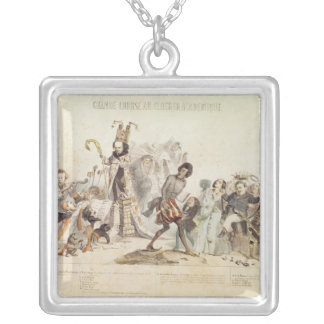 The Great Academic Competition Silver Plated Necklace