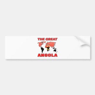 The Great ANGOLA Bumper Sticker