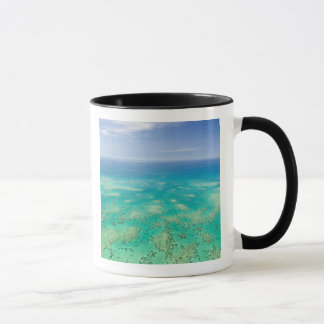 The Great Barrier Reef, aerial view of Green Mug
