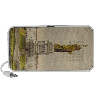 The Great Bartholdi Statue of Liberty Speakers