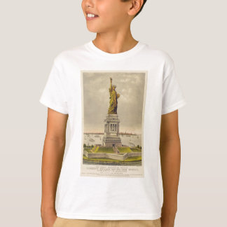 The Great Bartholdi Statue of Liberty T-Shirt