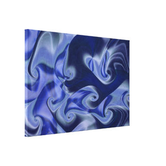 The Great Blue Gallery Wrap Canvas