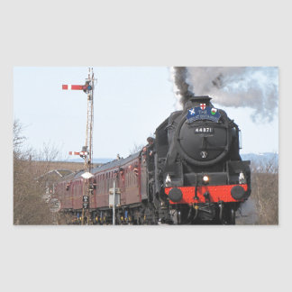The Great Britain III steam train Rectangular Sticker