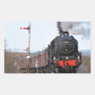 The Great Britain III steam train Rectangular Sticker