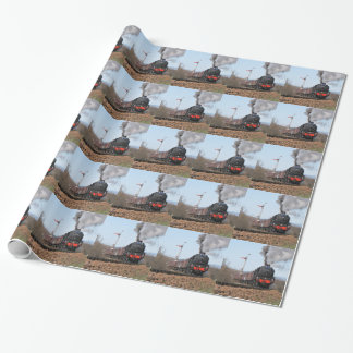 The Great Britain III steam train Wrapping Paper