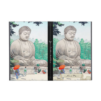 The Great Buddha at Kamakura FUJISHIMA TAKEJI Cover For iPad Mini