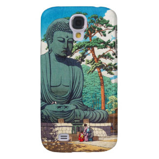 The Great Buddha at Kamakura Hasui Kawase hanga Galaxy S4 Case