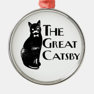 The Great Catsby Christmas Ornament